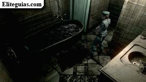 Baño de la mansión
