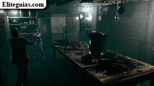 Cocina del sótano