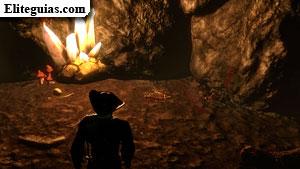 El tesoro en la cueva de la pantera
