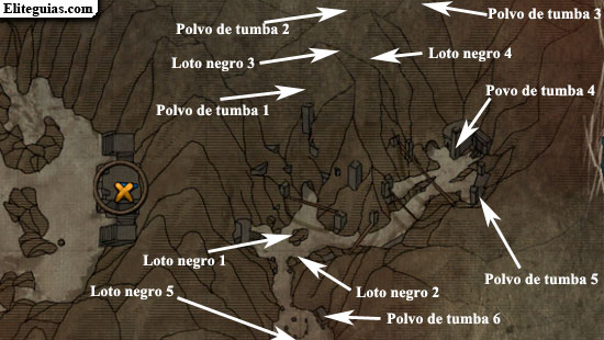 Loto Negro & Polvo de Tumba