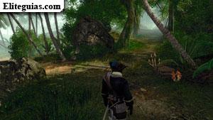 Mapa de la Isla de los Ladrones