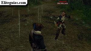 Pelea con Morgan