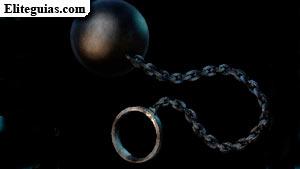 Bola con cadena