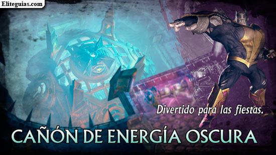 Cañón de Energía Oscura