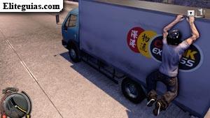 Recuperación de camión