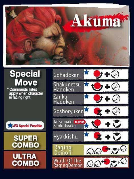 Street Fighter 4 Akuma