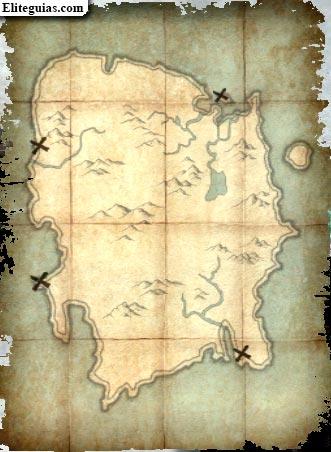 Mapa del tesoro de Estigma Mortal