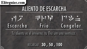 Aliento de escarcha