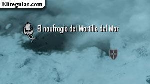 El naufragio del Martillo del Mar