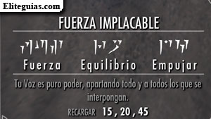 Fuerza implacable