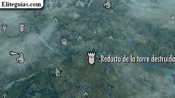 Reducto de la torre destruida