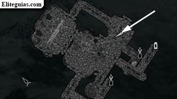 Roca de la Bruja Muerta - Mapa