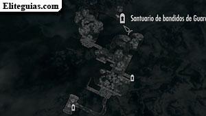 Santuario de bandidos de Guarda Pineda