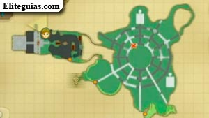 Mapa Desierto de Lanayru