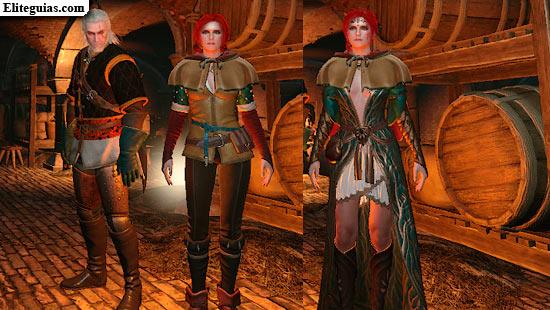 The Witcher 3 Wild Hunt Look Alternativo Para Triss