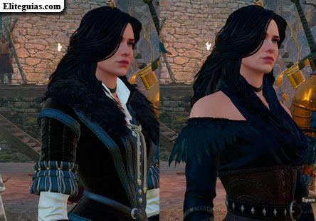 The Witcher 3: Wild Hunt - Look alternativo para Yennefer
