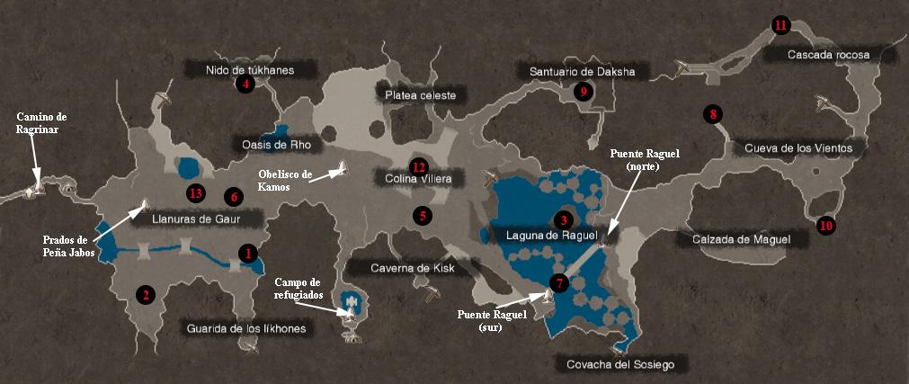 Gua xenoblade chronicles mapas pierna de bionis gumiabroncs Choice Image