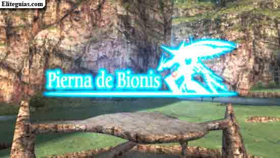 Pierna de Bionis